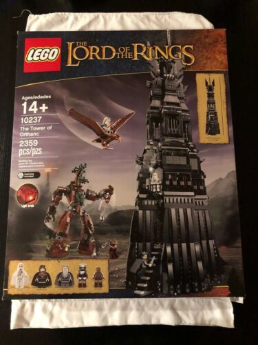 Lego 10237 Lord of the Rings LOTR Tower of Orthanc New Factory Sealed
