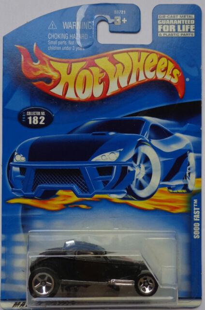 2001 Hot Wheels Sooo Fast Col. #182 (Black Version)