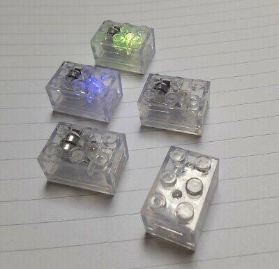 LEGO TECHNIC AXLE BRICKBUMS CUSTOM MINECRAFT STYLE 2X3 LIGHT BRICK GREEN