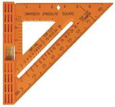 "NEW SWANSON TO111NEW SPEEDLITE SPEED SQUARE & LEVEL TOOL 8"" X 8"" USA 6467054"