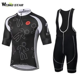 Image is loading WEIMOSTAR-Summer-Half-Sleeve-Cycling-Clothing-Set-Bicycle- 673f0c59c