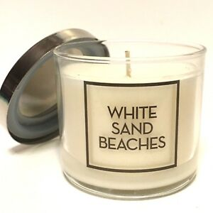 NEW-1-BATH-BODY-WORKS-HOME-WHITE-SAND-BEACHES-4-OZ-SCENTED-FILLED-MEDIUM-CANDLE