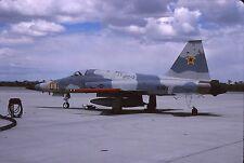 Original colour slide F-5E Tiger II 730865/01 of VFC-13 US Navy