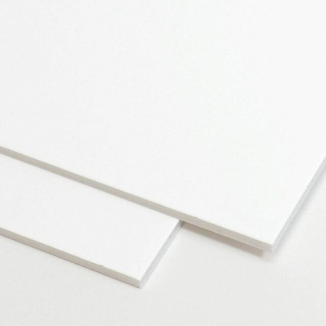 A1 White Foamboard 10mm Pack Of 5