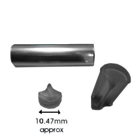 CLASSIC MINI WINDSCREEN CHROME INSERT LOCKING FILLER STRIP 3 METRES