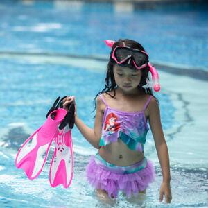 Fins Child Short Diving Snorkeling Swim Flippers Training Swimming Kids Scuba
