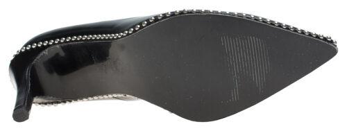 AnnaKastle Womens Ball-Chain 90mm High Heel Pumps