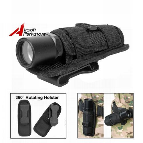 Rotatable Belt Clip Holster für Fenix Olight SureFire Streamlight Taschenlampe