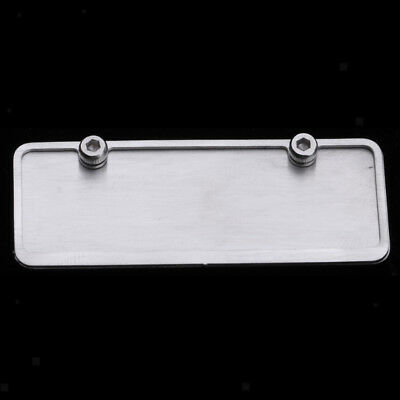1//10 Scale Blank License Plate for RC Car Buggy Truck DIY Your Unique Tag