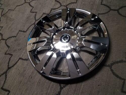 "New 2010 2011 2012 2013 2014 2015 2016 SRX 18/"" Hubcap Chrome Wheel Skin 4664"