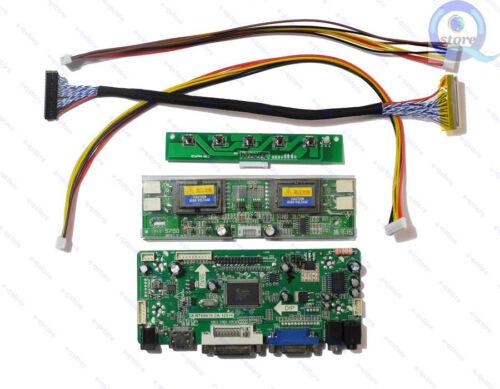 HDMI+DVI+VGA LCD Converter Board Inverter Kit for M220EW01 V2 1680X1050 NT68676
