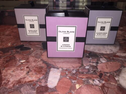 NWT Olivia Blake London Spa Soy Wax Scented Mothers Day Nest Gift Jar Candles