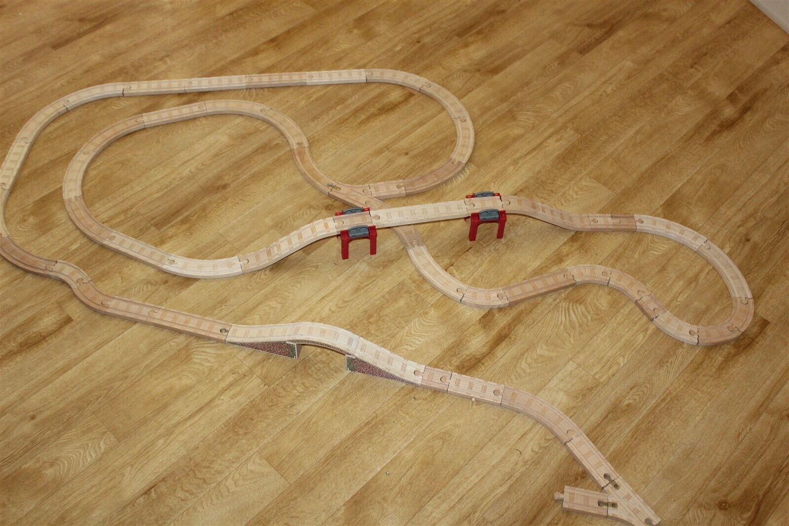 Thomas The Tank och Vänner träen Track Bundle 56 Pieces Genuine Thomas Pieces