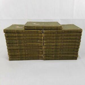 Antique 1912 Boys' and Girls' Bookshelf  Volumes I—-XXI (1-21) Complete Set