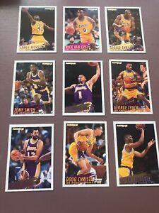1994-95-Fleer-Basketball-Team-Set-Los-Angeles-Lakers-James-Worthy
