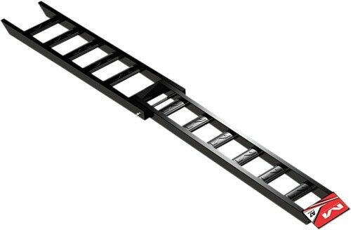 Black A7 101 Matrix Concepts A7 Aluminum Folding Ramp 7Ft