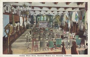 DB-Postcard-ca1915-A396-Cloister-Music-Room-Glenwood-Mission-Inn-Riverside-Calif