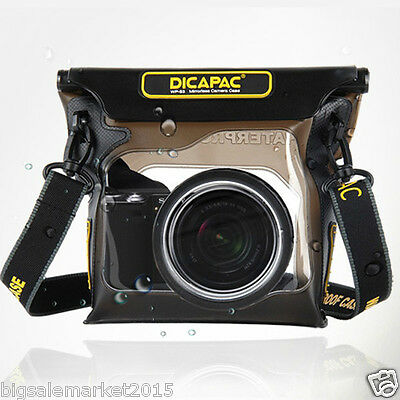 New 2015 DiCAPac WP-S3 100% Waterproof Case for Mirrorless Camera Housing Case