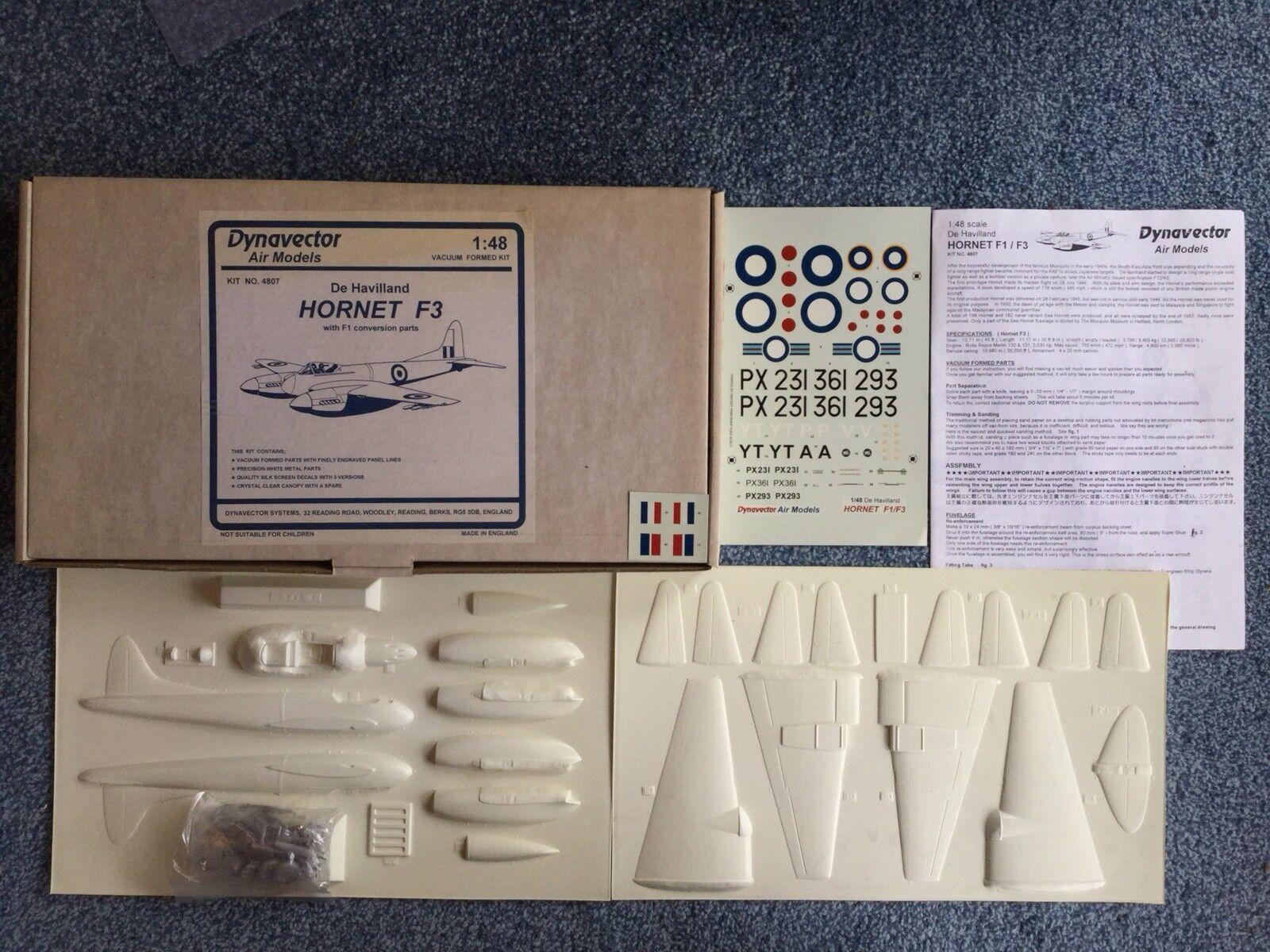 Dynavector 1 48 4807 Dh Hornet F3 (Vacuform & Metal Kit)