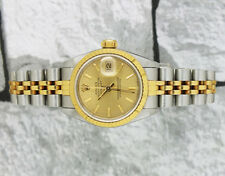 Beautiful Ladies Steel & Gold Rolex Oyster Perpetual Datejust - Rolex Papers