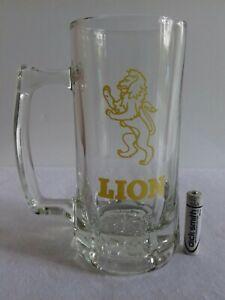 LION-Beer-Stein-glass