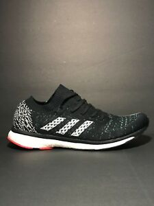 wholesale dealer 00d5f 0bf65 Image is loading New-Adidas-Adizero-Prime-Boost-LTD-Black-White-