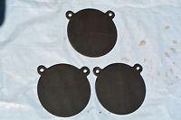 Ar500 Gong Steel Shooting Targets, 1/2 X 8 Diameter 3 Pieces Set Tgare002