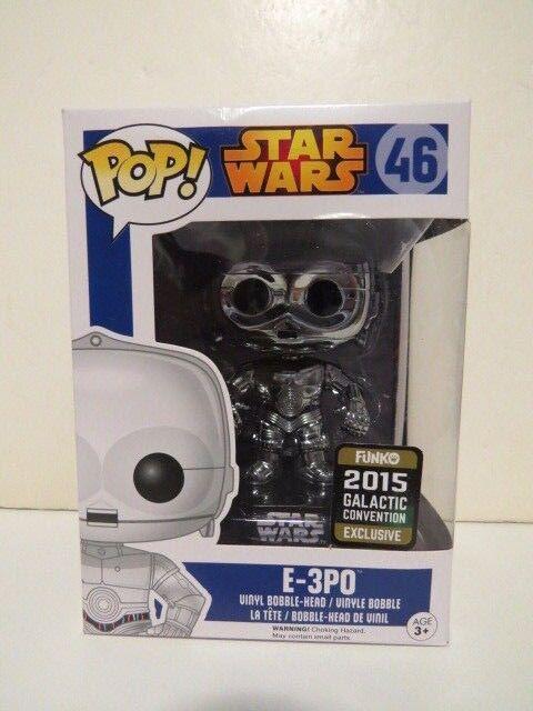Funko Pop Star Wars 2015 Galactic Convention Exclusive E-3PO Vinyl Figure