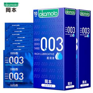 Okamoto 003 Smooth Condom 0.03mm Ultra Thin 10pcs/pack