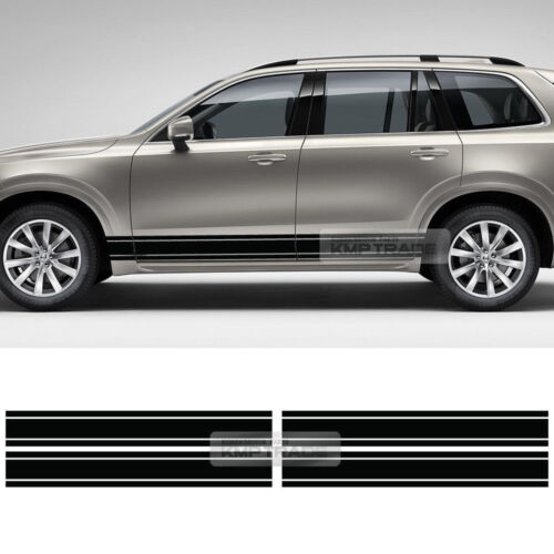 Universal Car Side Lower Door Panel Basic Line Decal Sticker for All Vehicle