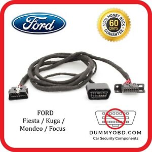 Details about Ford Focus MK2 ST & RS dummy OBD port relocation extension  OBD2 diagnostic block