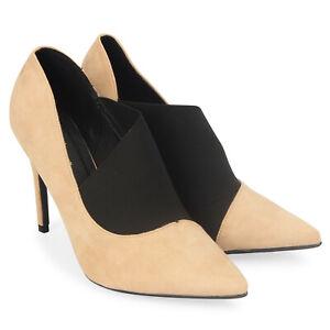 cdf99355316d4 Women's Ladies Suede Pencil High Heels Stiletto Court Shoes Pointed ...