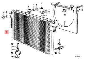image is loading genuine-bmw-e23-sedan-manual-m30-engine-cooling-