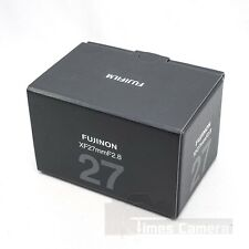 *NEW* Fujifilm Fujinon XF 27mm F/2.8 F2.8 Lens (Black) For X-T1 XT1 X-Pro 2 XT10