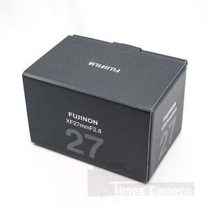 NEW-Fujifilm-Fujinon-XF-27mm-F-2-8-F2-8-Lens-Black-For-X-T2-X-T1-X-Pro-2-XT10