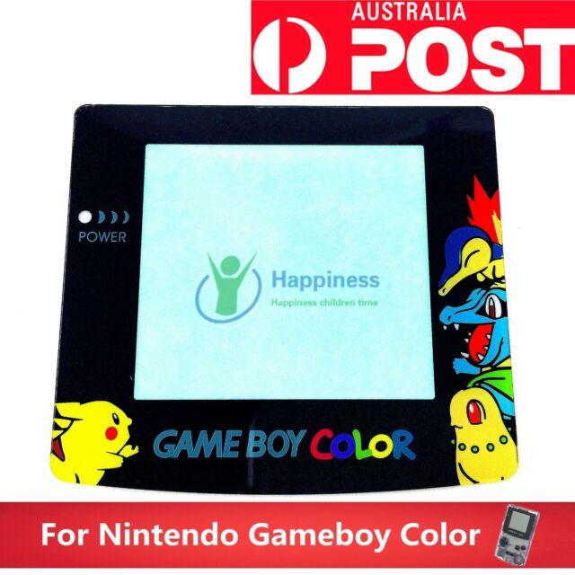 Replacement Pokemon Screen Lens NINTENDO Game Boy Colour GBC  Adhesive Back