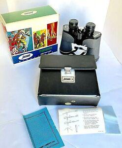 Vintage-Jason-Sportscaster-Empire-Binoculars-Model-133-Wide-Angle-Boxed-Case
