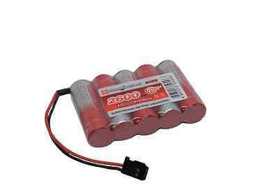RX Receiver Battery Pack 6v 2600mAh Nimh Radio Control FLAT Vapextech