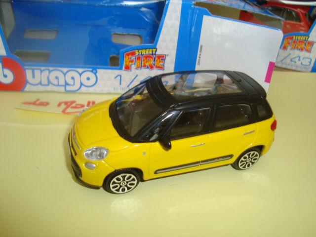 Nueva Fiat 500L 7 Asientos 1/43 B Burago Nueva en Caja