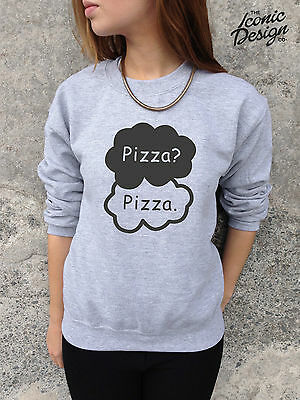 *Pizza? Pizza. Jumper Top Sweater Tumblr The Fault In Our Stars Okay Okay Funny*