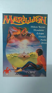 Marillion-Garden-Party-Live-vintage-music-postcard-CARD