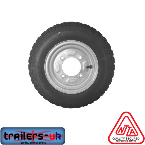 """350 X 8/"""" Wheel for Erde 102 and Maypole 711 Trailers FREE DEL"""