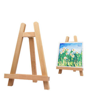 Details About Mini Wood Easel A Frame Artist Tabletop Draw Stand Tripod Stand Display Easel Ly