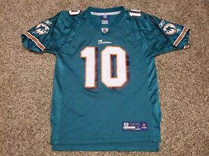 Wholesale ReebokNFL Miami Dolphins Youth Jersey #10 Chad Pennington, Size  for sale