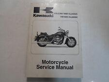 2003 2004 2005 Kawasaki Vulcan 1600 Classic VN1600 Classic Service Shop Manual