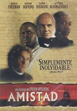 DVD - Amistad NEW Morgan Freeman Anthony Hopkins FAST SHIPPING !