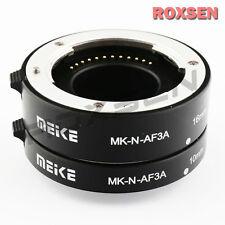 MeiKe Metal Auto Focus Macro Extension Tube Adapter for Nikon 1 mount J1 J5 V3