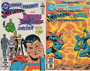 SUPERMAN-VF-LOT-10-Man-of-Steel-Adventures-Krypton-Toyman-DC-Comics-Presents