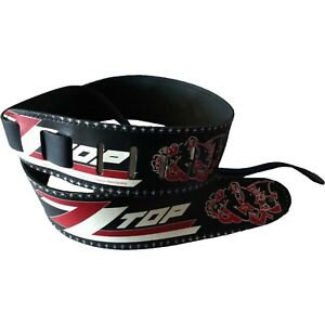 ZZ-TOP-Limited-Leather-Guitar-Strap-2-5-034-Beer-Drinkers-Billy-Gibbons-Dusty-Hill