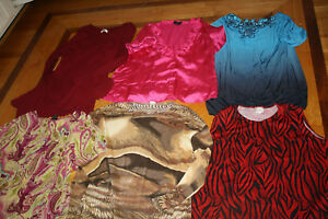 Womens-Huge-57-PC-Wardrobe-Clothing-LOT-XL-1X-14-16-TOPS-SWEATERS-JACKETS-PANTS